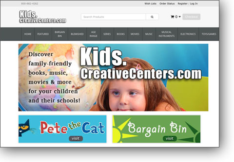 Kids Homepage